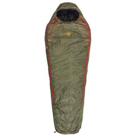 Slumberjack -20°F Lapland DriDown Sleeping Bag - Mummy in Green/Red - Closeouts