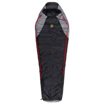 Slumberjack -20°F Sojourn DriDown Sleeping Bag - Mummy, 550 FP in Black/Red - Closeouts
