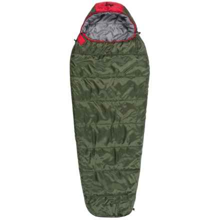 Slumberjack 30°F Big Scout Sleeping Bag - Short, Mummy (For Big Kids) in Spruce - Closeouts