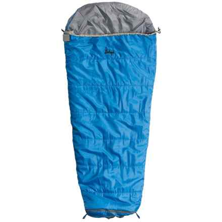 Slumberjack 30°F Go-N-Grow Sleeping Bag - Mummy (For Big Boys) in Brilliant Blue - Closeouts