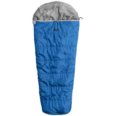 Slumberjack 30°F Go-N-Grow Sleeping Bag - Mummy (For Kids) in Brilliant Blue - Closeouts