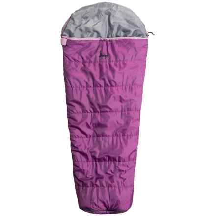 Slumberjack 30°F Go-N-Grow Sleeping Bag - Mummy (For Kids) in Purple Gumdrop - Closeouts