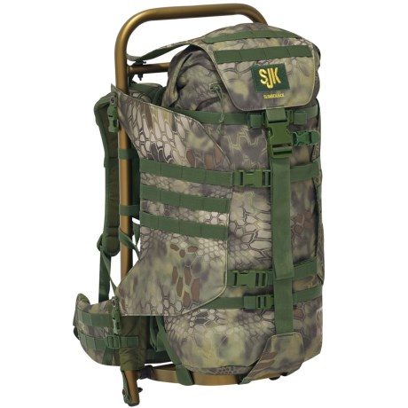 Slumberjack Rail Hauler 2500 Hunting Backpack - External Frame in Mandrake