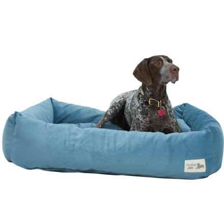 """Slumberjax Spa Dozer Pet Bed - Large, 38x30"""" in Mist - Closeouts"""