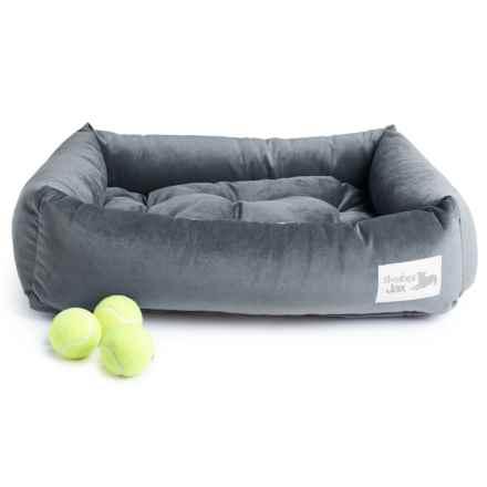 """Slumberjax Spa Dozer Pet Bed - Medium, 28x22"""" in Mist - Closeouts"""