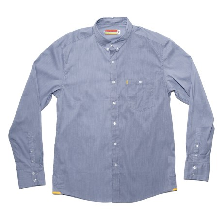 SLVDR Avers Shirt - Long Sleeve (For Men) in Pepper