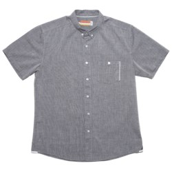 SLVDR Menard Shirt - Cotton Chambray, Short Sleeve (For Men) in Blue