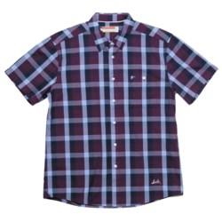 SLVDR Stockton Shirt - Short Sleeve (For Men) in Red