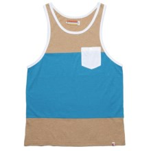 SLVDR Winchester Tank Top - Cotton (For Men) in Mineral - Closeouts