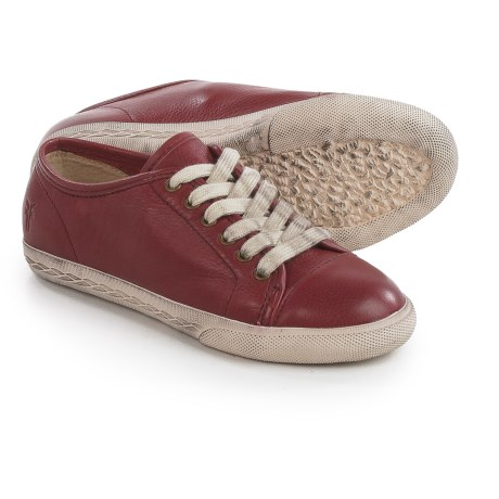 Small Frye Frye Chambers Low Sneakers (For Little and Big Kids) in Burnt Red