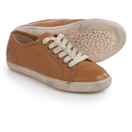 Small Frye Frye Chambers Low Sneakers (For Little and Big Kids) in Camel - Closeouts
