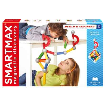 SmartMax Build and Connect Magnetic Toy in See Photo - Closeouts