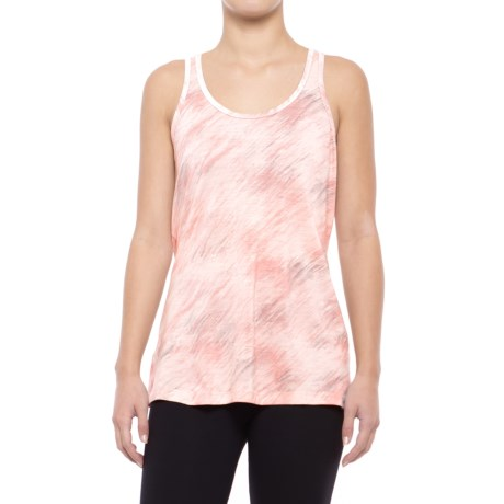 SmartWool 150 Pattern Tank Top - Merino Wool, Racerback (For Women) in Pink Horizon