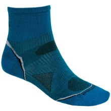 SmartWool 2012 PhD Running Mini Socks - Ultralight, Quarter-Crew (For Men and Women)
