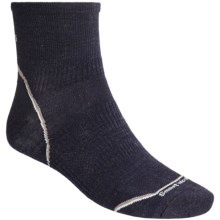 SmartWool 2012 PhD Running Mini Socks - Ultralight, Quarter-Crew (For Men and Women) in Navy Heather - 2nds