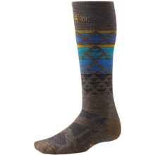 SmartWool 2013 Medium Cushion Snowboard Socks - Merino Wool, Over-the-Calf (For Men and Women) in Taupe - 2nds