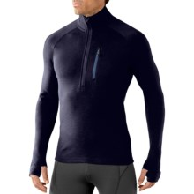 SmartWool 2013 MerinoMax Base Layer Top - Zip Neck, Long Sleeve (For Men) in Deep Navy - Closeouts