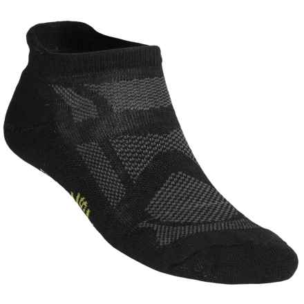 SmartWool 2013 Outdoor Sport Light Socks - Merino Wool, Below the Ankle (For Men and Women) in Black - 2nds
