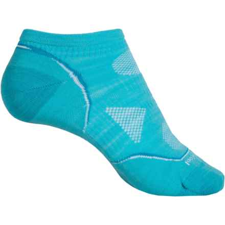 SmartWool 2013 PhD Cycle Micro Socks - Merino Wool, Below the Ankle (For Women) in Light Capri - 2nds