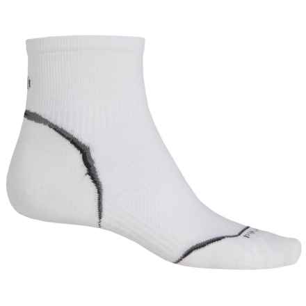 SmartWool 2013 PhD Cycle Mini Socks - Merino Wool, Crew, Ultralight (For Men and Women) in White - 2nds