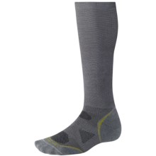 SmartWool 2013 PhD Graduated Compression Socks - Lightweight, Merino Wool (For Men and Women) in Graphite - 2nds