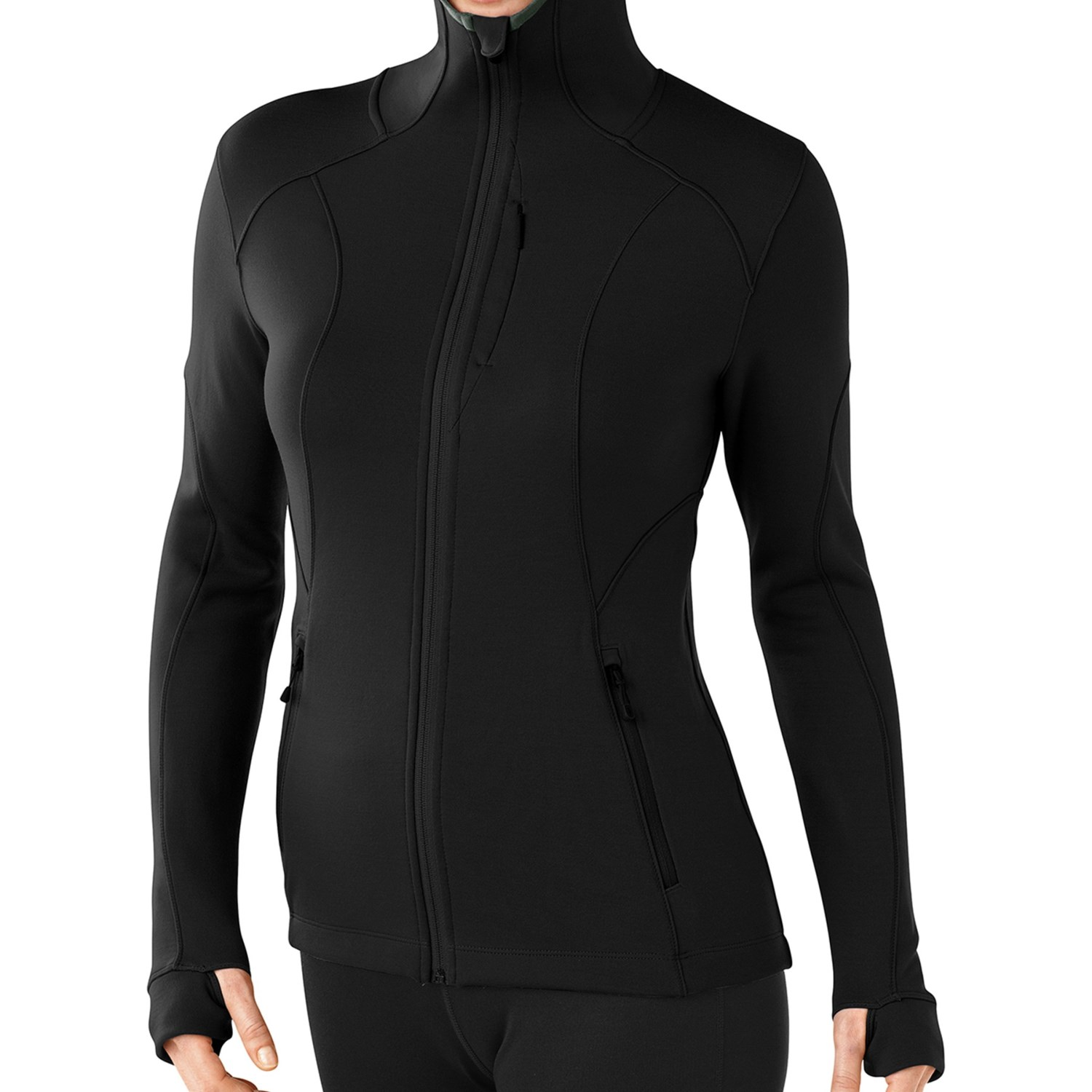 Smartwool 2013 phd hyfi hooded shirt merino wool full for Merino wool shirt womens