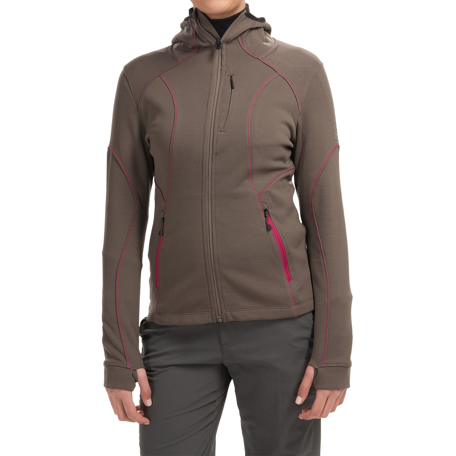 Smartwool 2013 phd hyfi hooded shirt for women for Merino wool shirt womens