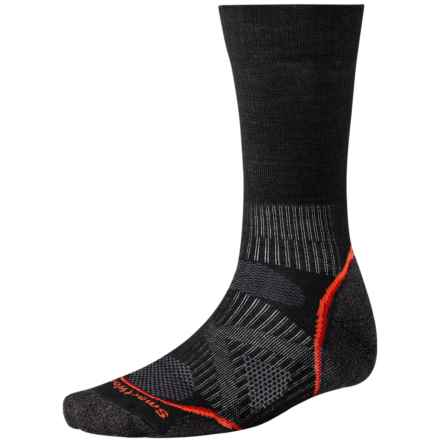 Smartwool 2013 PhD Nordic Ski Socks - Merino Wool, Crew (For Men and Women) in Black - 2nds
