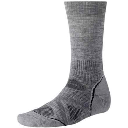 SmartWool 2013 PhD Nordic Ski Socks - Merino Wool, Midweight (For Men and Women) in Light Grey - 2nds