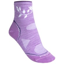 SmartWool 2013 PhD Outdoor Ultralight Mini Socks - Merino Wool, Quarter-Crew (For Women) in Lilac - 2nds