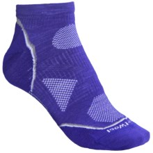 SmartWool 2013 PhD Outdoor Ultralight Socks - Merino Wool, Below-the-Ankle (For Women) in Liberty - 2nds