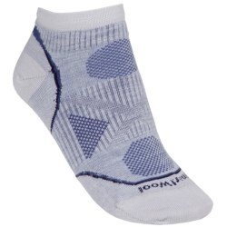 SmartWool 2013 PhD Outdoor Ultralight Socks - Merino Wool, Below-the-Ankle (For Women) in Silver