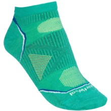 SmartWool 2013 PhD Outdoor Ultralight Socks - Merino Wool, Below-the-Ankle (For Women) in Spearmint - 2nds