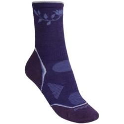 Smartwool 2013 PhD Outdoor Ultralight Socks - Merino Wool, Crew (For Women) in Light Grey