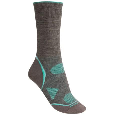 Smartwool 2013 PhD Outdoor Ultralight Socks - Merino Wool, Crew (For Women) in Oatmeal