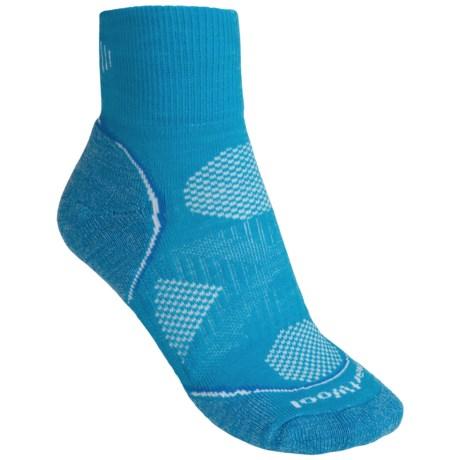 SmartWool 2013 PhD Run Light Socks (For Women) in Horizon Blue