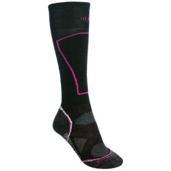 SmartWool 2013 PhD Ski Socks - Merino Wool, Lightweight, Over-the-Calf (For Women) in Black