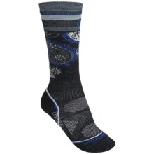 SmartWool 2013 PhD Ski Socks - Merino Wool, Lightweight, Over-the-Calf (For Women) in Charcoal - 2nds