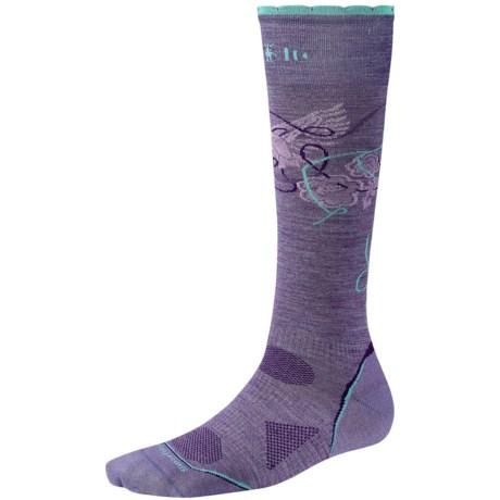 SmartWool 2013 PhD Ski Socks - Merino Wool, Ultralight, Over-the-Calf (For Women) in Lavender