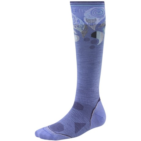 SmartWool 2013 PhD Ski Socks - Merino Wool, Ultralight, Over-the-Calf (For Women) in Polar Purple