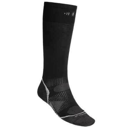 SmartWool 2013 PhD Ski Ultralight Socks - Merino Wool, Over the Calf (For Men and Women) in Black - 2nds