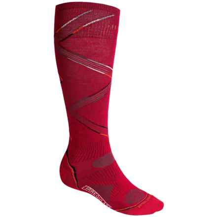 SmartWool 2013 PhD Ski Ultralight Socks - Merino Wool, Over the Calf (For Men and Women) in Crimson - 2nds