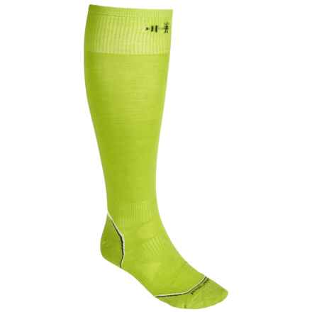 SmartWool 2013 PhD Ski Ultralight Socks - Merino Wool, Over the Calf (For Men and Women) in Smartwool Green - 2nds