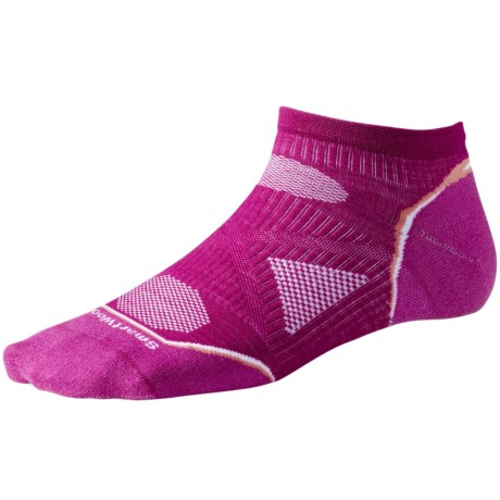 SmartWool 2013 PhD Ultralight Micro Running Socks - Merino Wool (For Women) in Light Grey