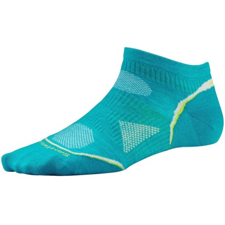 SmartWool 2013 PhD Ultralight Micro Running Socks - Merino Wool (For Women) in Capri