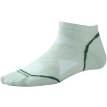 SmartWool 2013 PhD Ultralight Micro Running Socks - Merino Wool (For Women) in Fresca - 2nds