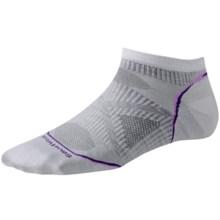 SmartWool 2013 PhD Ultralight Micro Running Socks - Merino Wool (For Women) in Silver - 2nds