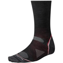 SmartWool 2013 PhD Ultralight Outdoor Socks - Merino Wool, Crew (For Men and Women) in Black - 2nds