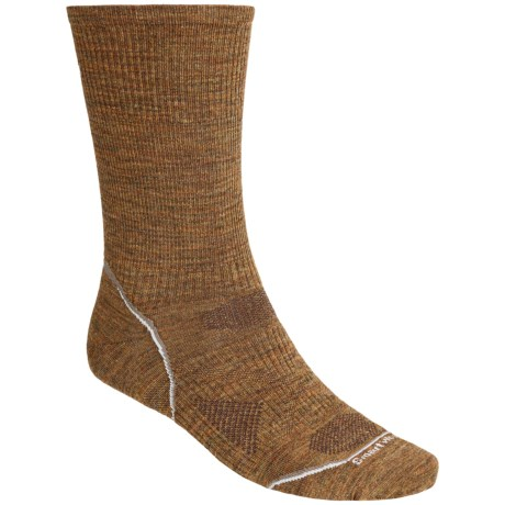 SmartWool 2013 PhD Ultralight Outdoor Socks - Merino Wool, Crew (For Men and Women) in Caramel