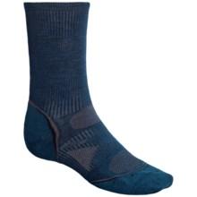 SmartWool 2013 PhD Ultralight Outdoor Socks - Merino Wool, Crew (For Men and Women) in Deep Sea - 2nds